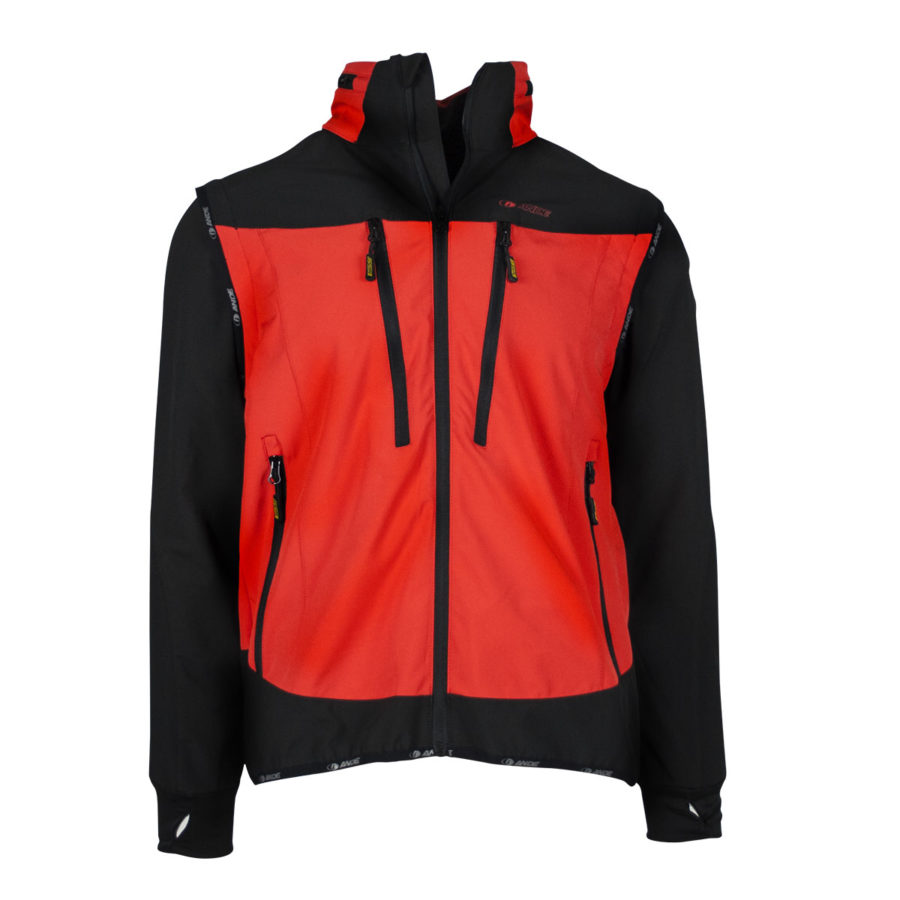 giacca uomo Thyphoon rossa