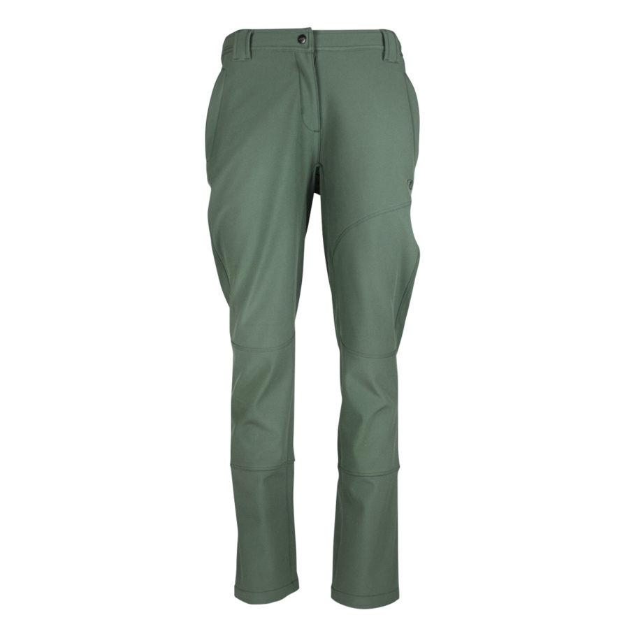 pantaloni trekking montagna Furka verde