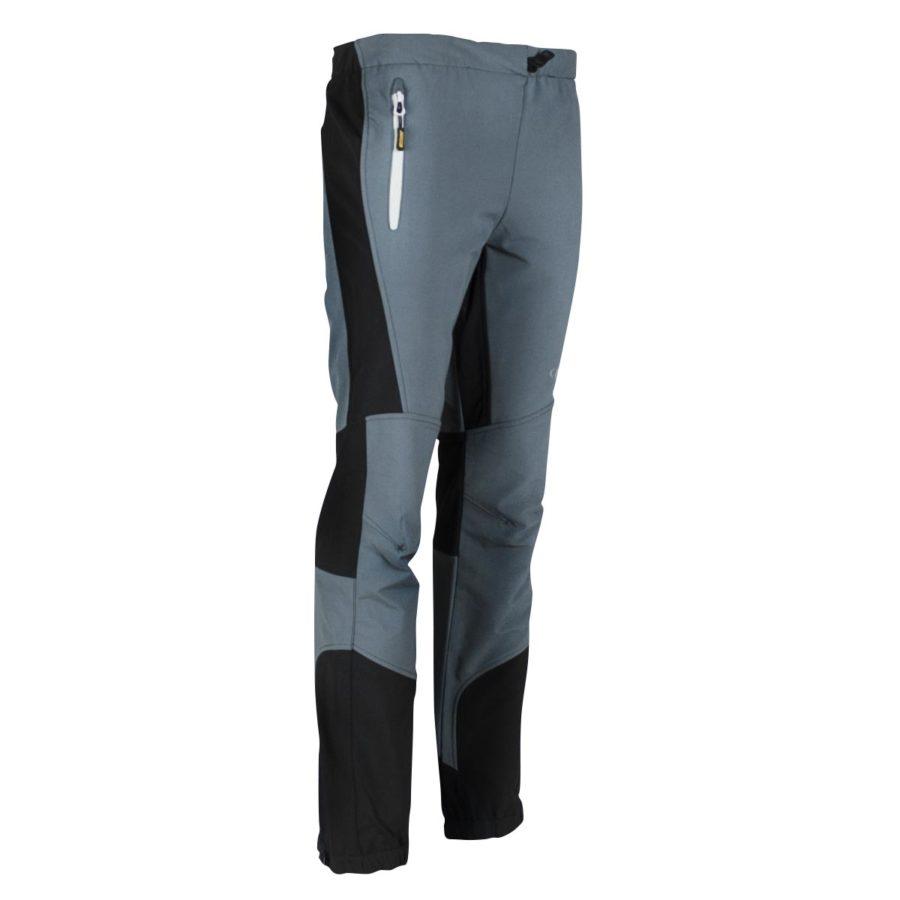 pantaloni trekking montagna Lavarello grigio e nero
