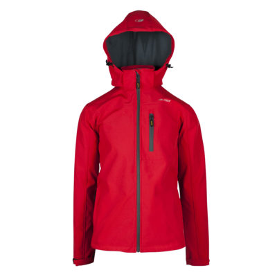 giacca softshell Contact uomo rossa