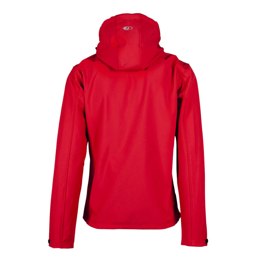 giacca softshell Contact uomo rossa