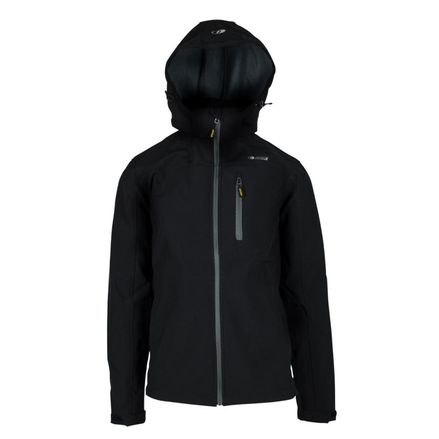 giacca softshell Contact uomo nera