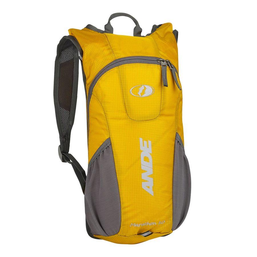 zaino marathon 10 litri giallo