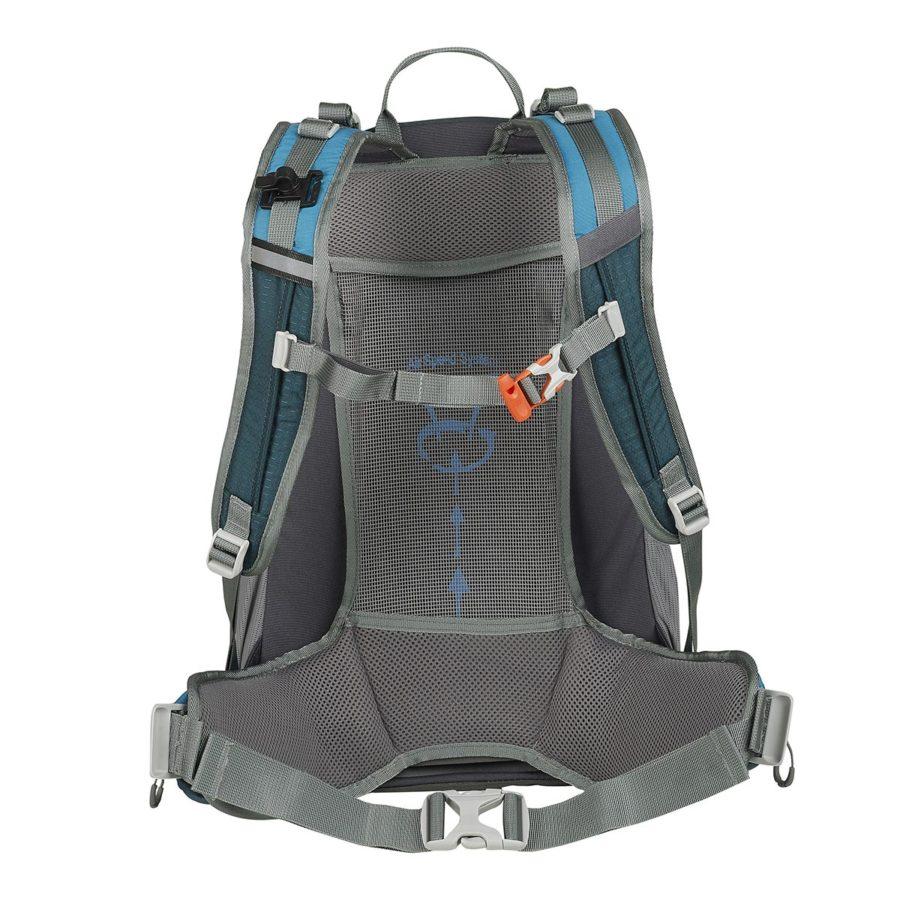 ande zaino montagna traveller 40 litri azzurro